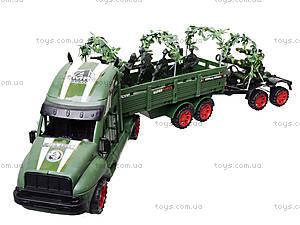 Машина инерционная военная с солдатиками, KZ322, фото