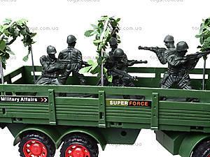 Машина инерционная военная с солдатиками, KZ322, отзывы