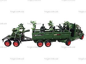 Машина инерционная военная с солдатиками, KZ322, цена