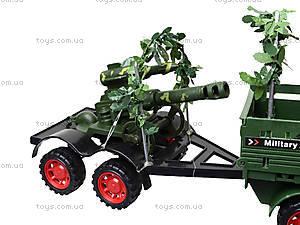 Машина инерционная военная с солдатиками, KZ322, игрушки