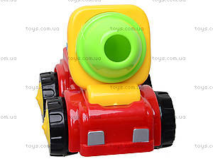 Детская машинка «Бетономешалка», 50035H-3B, отзывы