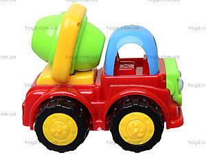 Детская машинка «Бетономешалка», 50035H-3B, игрушки