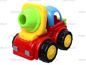 Детская машинка «Бетономешалка», 50035H-3B, детские игрушки