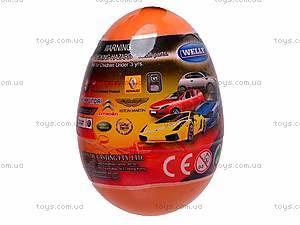 Машина 1:60 в яйце, 52020E-36D