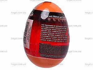 Машина 1:60 в яйце, 52020E-36D, купить
