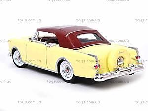 Машина 1953 Packard Caribbean, 24016H-W, игрушки