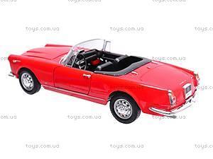 Машина 1960 Alfa Romeo Spider 2600, 24003C-W, фото