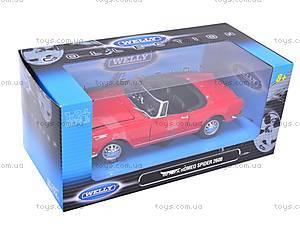 Машина 1960 Alfa Romeo Spider 2600, 24003C-W, детские игрушки