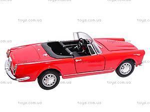 Машина 1960 Alfa Romeo Spider 2600, 24003C-W, toys.com.ua