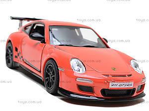 Машина 2010 Porsche 911 GT3 RS, KT5352W, магазин игрушек