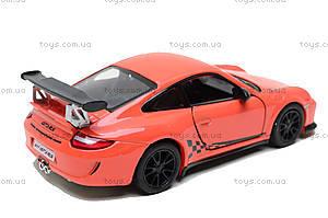 Машина 2010 Porsche 911 GT3 RS, KT5352W, іграшки