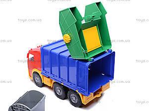 Машина «Акрос», мусоровоз, 0565cp0030901032, детские игрушки