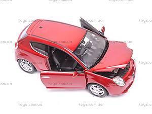 Машина Alfa Romeo Mito, 22505W, игрушки
