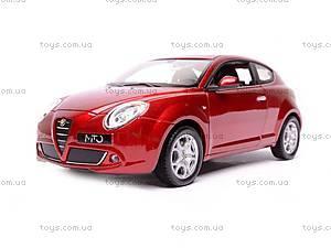 Машина Alfa Romeo Mito, 22505W, детские игрушки