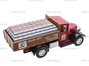 Коллекционная машина Antique Lorry, 99350W(A), игрушки