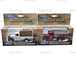 Коллекционная машина Antique Lorry, 99350W(A), детские игрушки