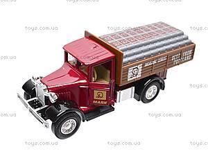 Коллекционная машина Antique Lorry, 99350W(A), магазин игрушек