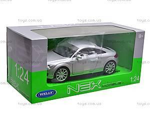Машина Audi TT Coupe, 22478W, детские игрушки