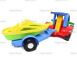 Машина-багги с прицепом, 39227, фото