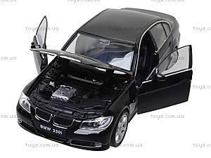 Игрушечная машина BMW 330i, 22465W, магазин игрушек