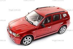 Машина BMW X3, на радиоуправлении, 866-1801B