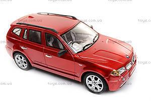 Машина BMW X3, на радиоуправлении, 866-1801B, отзывы