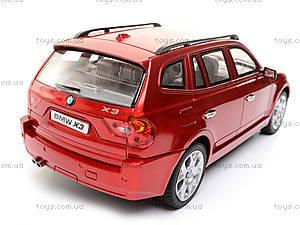 Машина BMW X3, на радиоуправлении, 866-1801B, цена