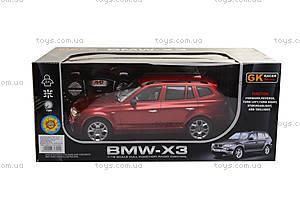 Машина BMW X3, на радиоуправлении, 866-1801B, игрушки