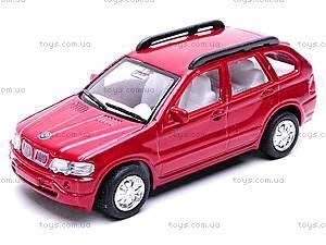 Машина BMW X5 (12шт.), 2536D, детские игрушки