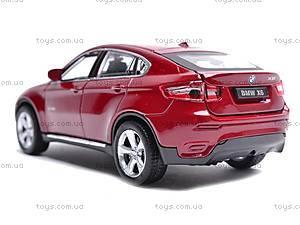 Машина BMW X6 с музыкальными эффектами, 25017A, купить