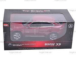 Машина BMW X6 с музыкальными эффектами, 25017A, фото