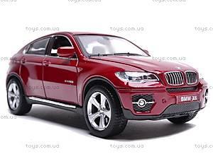 Машина BMW X6 с музыкальными эффектами, 25017A