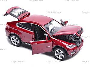 Машина BMW X6 с музыкальными эффектами, 25017A, отзывы