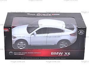 Машина BMW X6 с музыкальными эффектами, 25017A, игрушки