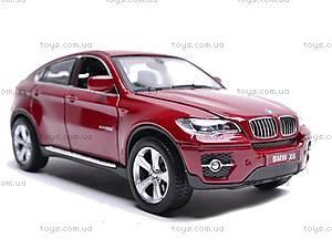 Машина BMW X6 с музыкальными эффектами, 25017A, детские игрушки