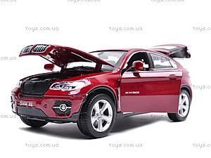 Машина BMW X6 с музыкальными эффектами, 25017A, магазин игрушек