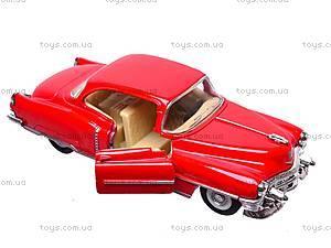 Машина Cadillac series 62 Coupe, KT5339W, детские игрушки