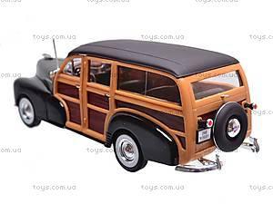 Машина Chevrolet Fleetmaster 1948, 22083 W, детские игрушки
