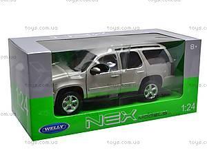 Машина Chevrolet Tahoe 2008, 22509W, магазин игрушек