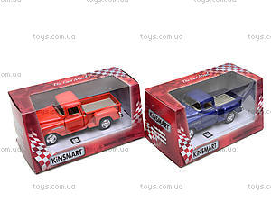 Машина Chevy Stepside Pick-up, KT5330W, toys.com.ua