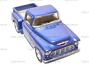 Машина Chevy Stepside Pick-up, KT5330W, игрушки