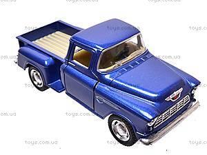 Машина Chevy Stepside Pick-up, KT5330W, детские игрушки