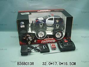 Машина-джип «Дорожный патруль», с пультом, 666-62 (36801