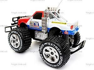 Машина-джип, со светящимися колесами, р/у, 9012, игрушки