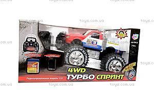 Машина-джип, со светящимися колесами, р/у, 9012, детские игрушки