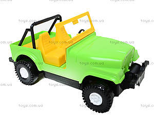 Машина-джип «Тигрес», 39015, детские игрушки