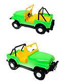 Машина-джип «Тигрес», 39015, toys.com.ua