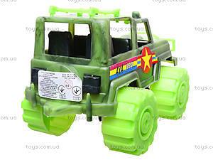 Игрушечный джип «Военный», 05-502, купить