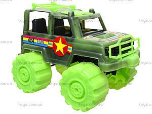 Игрушечный джип «Военный», 05-502, фото