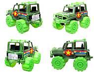 Игрушечный джип «Военный», 05-502, интернет магазин22 игрушки Украина